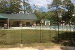 Commercial Ornamental Iron Fence - Public Pool