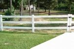 Corral Board Fence