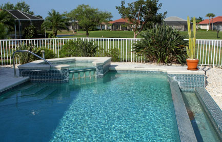 Pool Fence - Security Fence Installation
