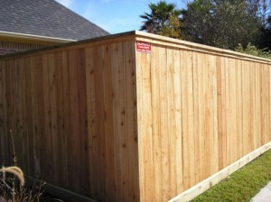 Residential Fence in The Woodlands